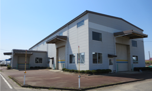 第2工場(延床面積863.24m²(261坪))